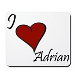 I love Adrian Mousepad