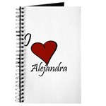 I love Alejandra Journal