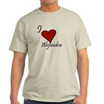 I love Alejandra Light T-Shirt