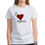 I love Alejandra Women's T-Shirt