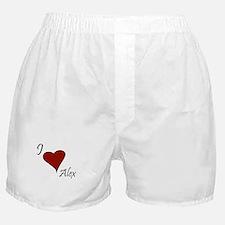 I love Alex Boxer Shorts