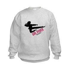 Girl Power 3 Karate Sweatshirt