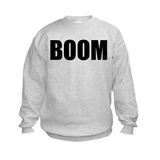 BOOM black-text Sweatshirt