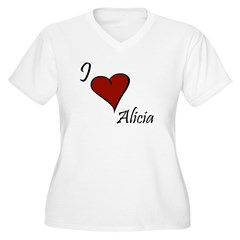 I love Alicia T-Shirt