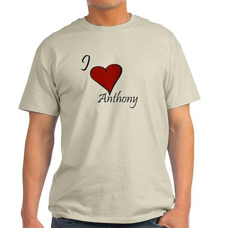 I love Anthony Light T-Shirt