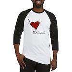 I love Antonio Baseball Jersey