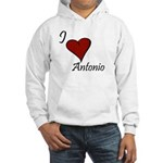 I love Antonio Hooded Sweatshirt