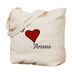 I love Ariana Tote Bag