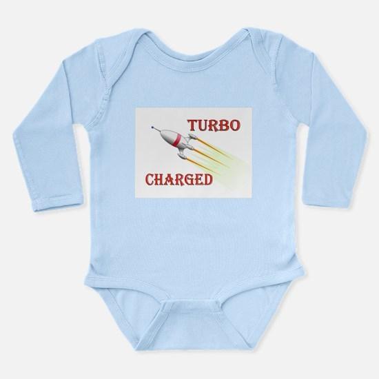 BLAST OFF Long Sleeve Infant Bodysuit