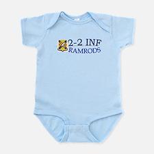 2nd Bn 2nd Infantry Infant Bodysuit