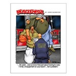 Fire Dept - Small Poster