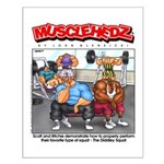 Diddley Squat - Small Poster