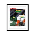 Waist - Framed Panel Print