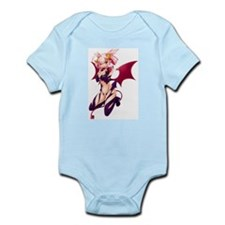 Devilish Sexy Anime Girl Infant Bodysuit