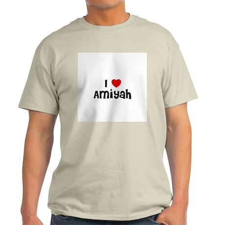 I * Amiyah Ash Grey T-Shirt
