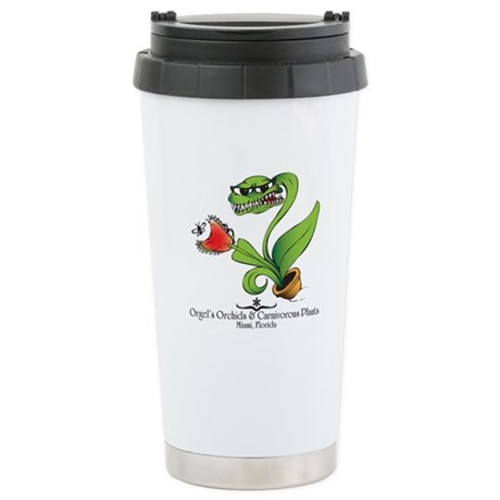 Orgel's Orchids Stainless Steel Travel Mug
