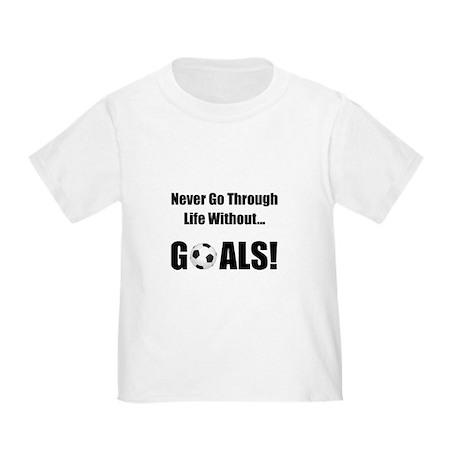 Soccer Goals! Toddler T-Shirt