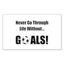 Soccer Goals! Decal