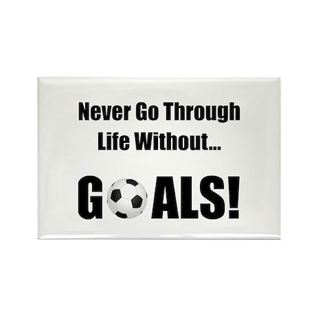 Soccer Goals! Rectangle Magnet (10 pack)