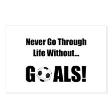 Soccer Goals! Postcards (Package of 8)