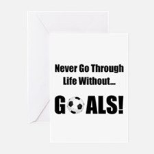 Soccer Goals! Greeting Cards (Pk of 10)
