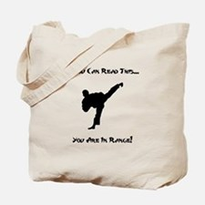 You Are In Range! Tote Bag