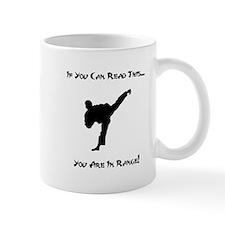 You Are In Range! Mug