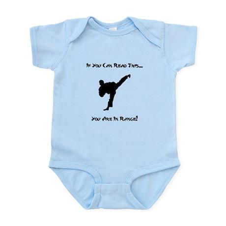 You Are In Range! Infant Bodysuit