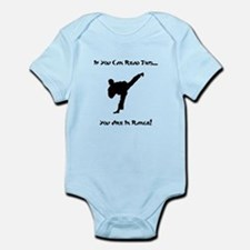 You Are In Range! Infant Bodysuit