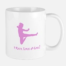 Kick Like A Girl! Mug