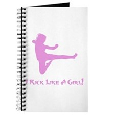 Kick Like A Girl! Journal