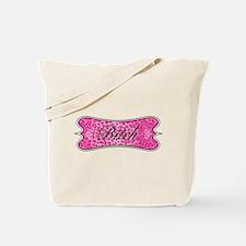 Pink Leopard Bitch Tote Bag