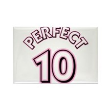 Perfect 10 Rectangle Magnet