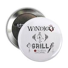 """Wendigo or Windigo Grill 2.25"""" Button"""