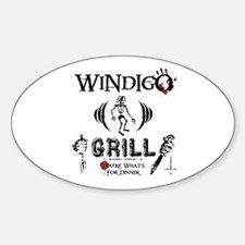 Wendigo or Windigo Grill Decal
