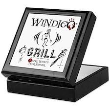 Wendigo or Windigo Grill Keepsake Box