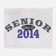 Senior Class of 2014 Throw Blanket