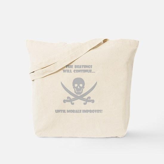 Morale Improvement! Tote Bag