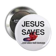 Jesus Saves Button