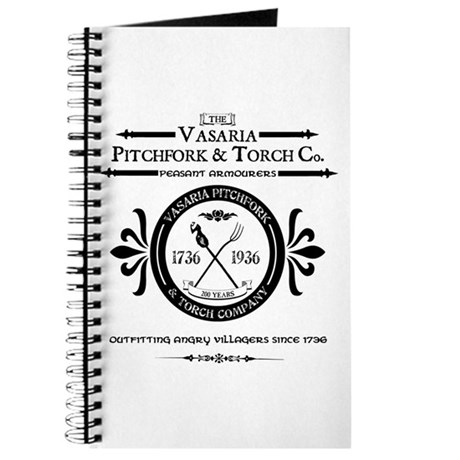 Vasaria Pitchfork and Torch C Journal