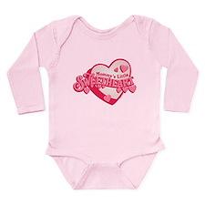 Mommy's Sweetheart Long Sleeve Infant Bodysuit