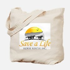 Save A Life Horse Rescue Tote Bag
