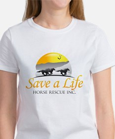 Save A Life Horse Rescue Women's T-Shirt