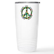 Autism Peace Sign Travel Mug