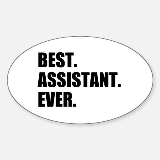 Best Assistant Ever Decal