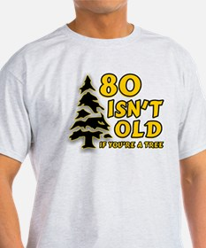 80 Isnt old Birthday T-Shirt