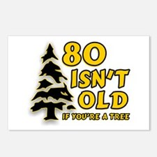 80 Isnt old Birthday Postcards (Package of 8)