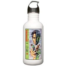 Death Has Two Faces Water Bottle