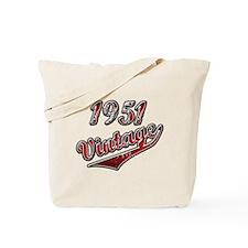 1951 birthday Tote Bag