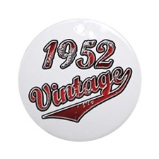 Funny 1952 Ornament (Round)